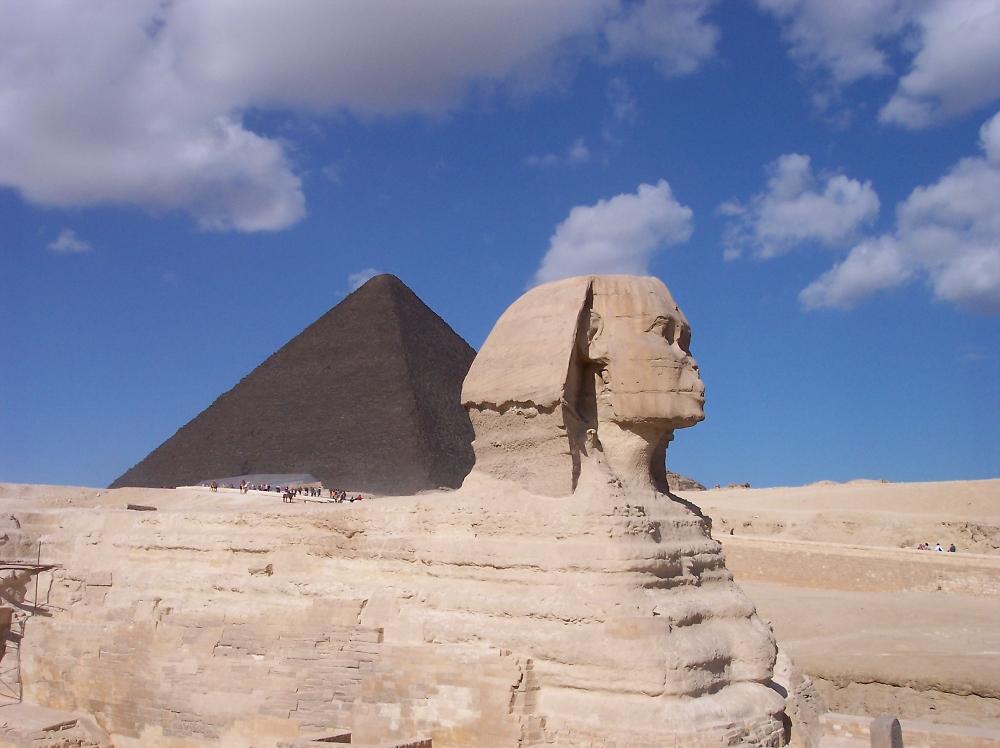 Great Pyramid & Sphinx - Egypt 2010