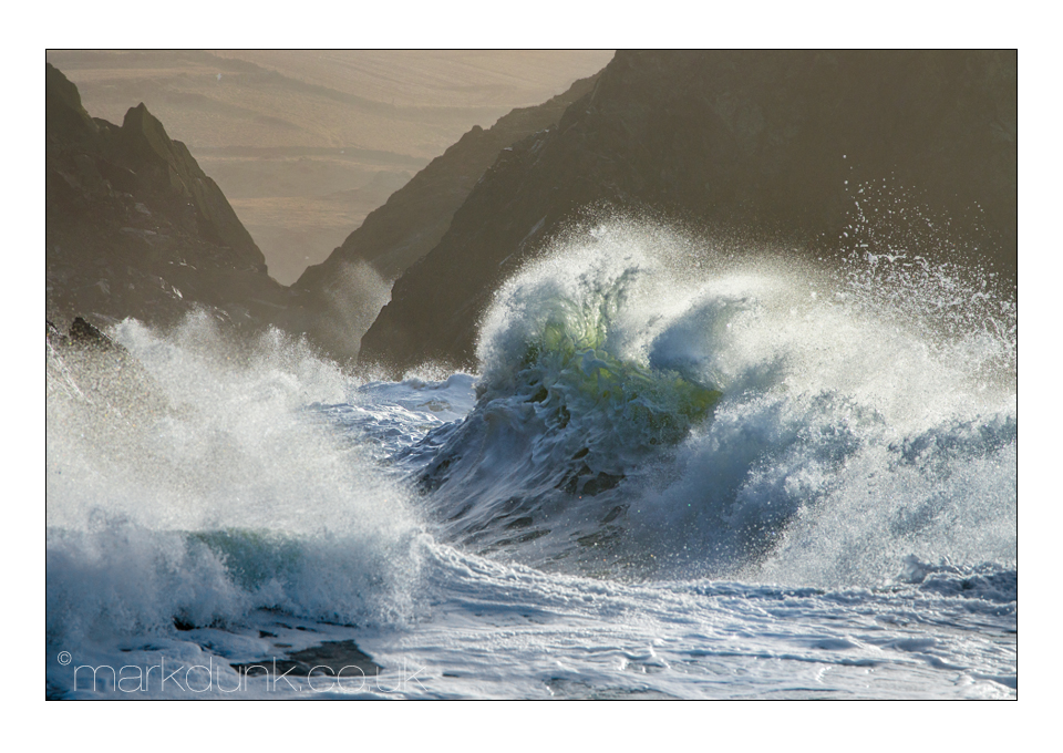 It's a wave