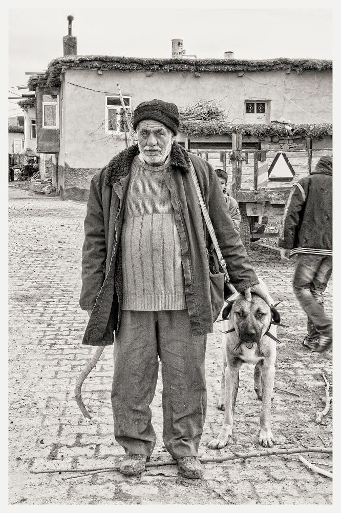 Shepherd and his Dog