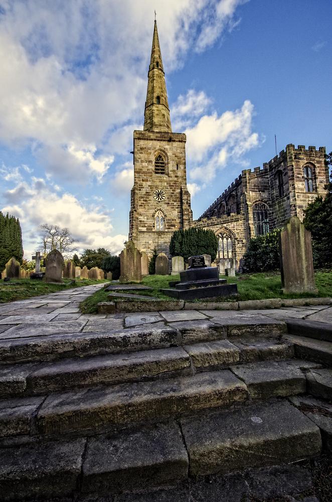 A Spring Churchyard
