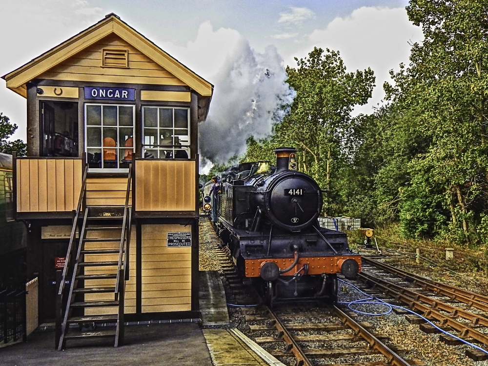 Arrival at Ongar