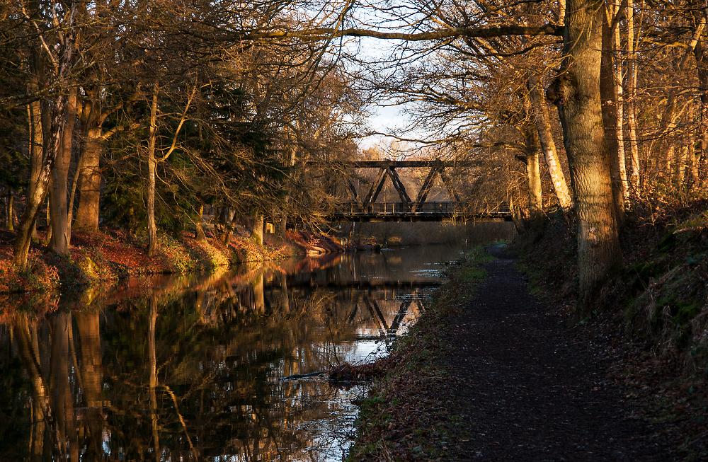 Claycart Bridge at Dawn