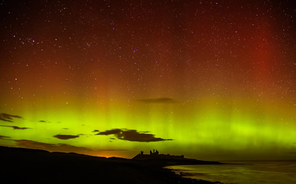 Dunstanburgh Aurora