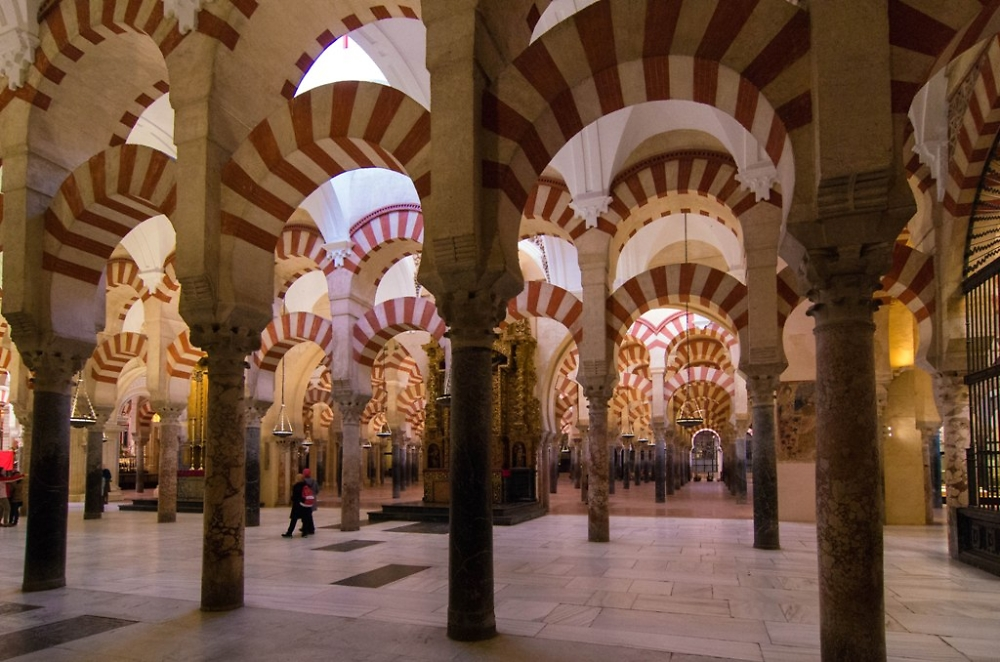 Inside the magical Cathedral Mosque of Cordoba