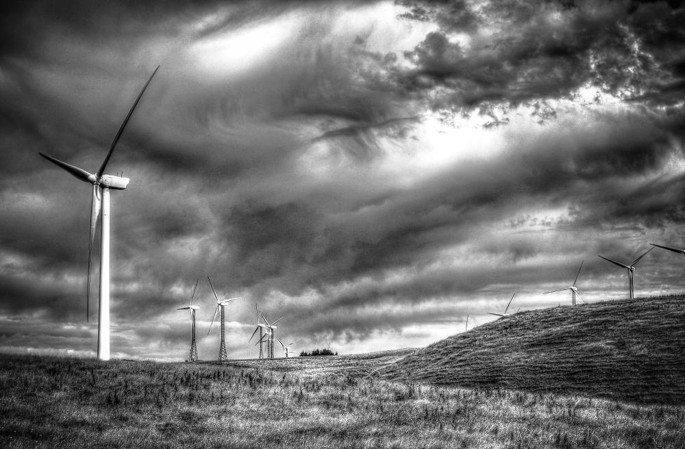 Isolated Wind Farm