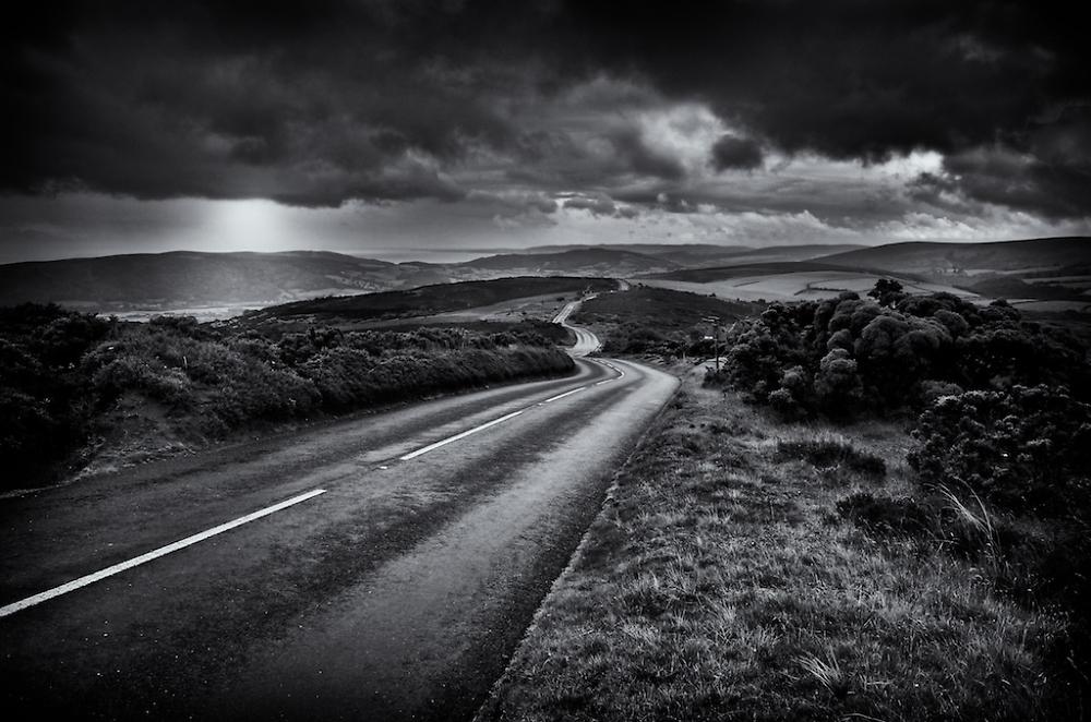 The road to Porlock