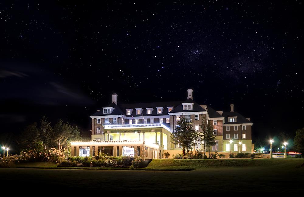 Chateau Tongariro at Night