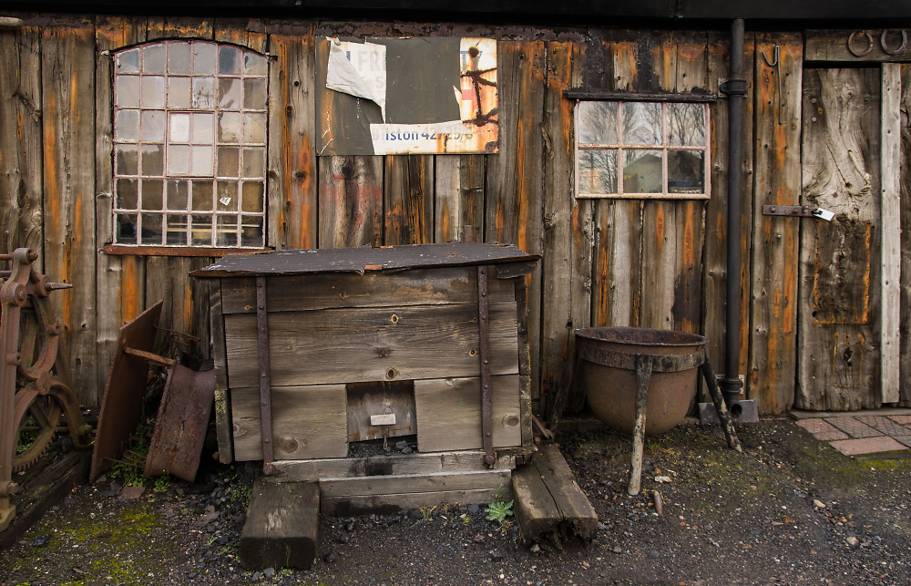 Old Shed with Coal Bunker