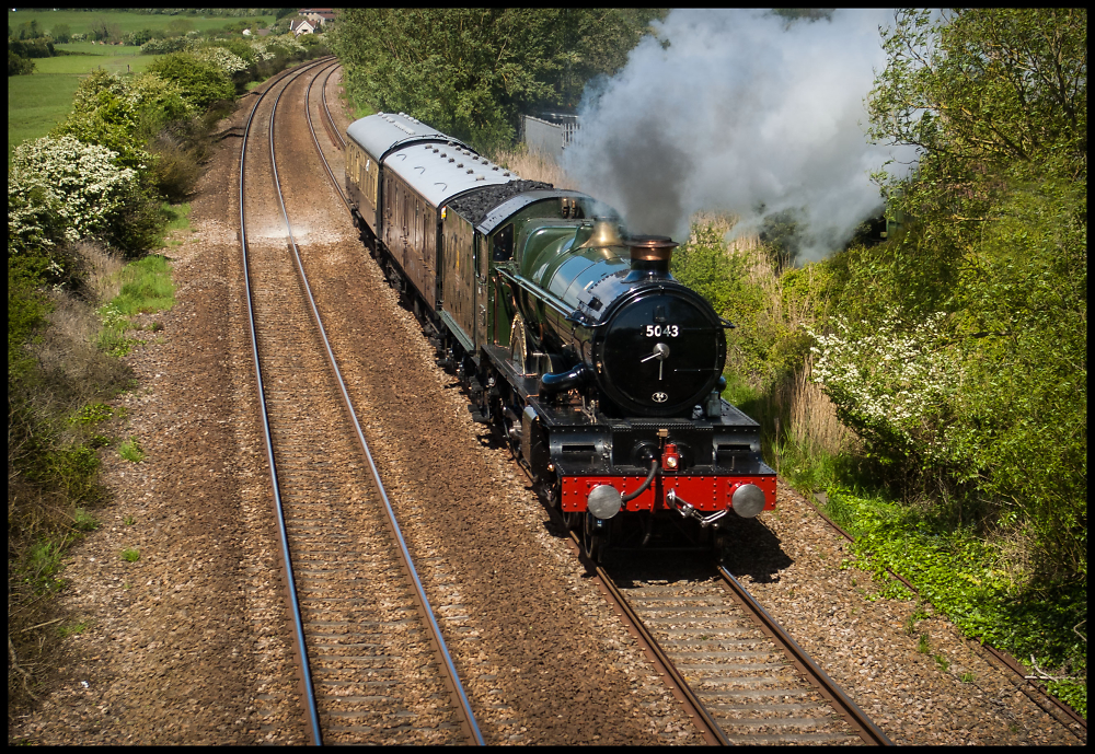 GWR Castle Class 5043 Earl of Mount Edgcumbe