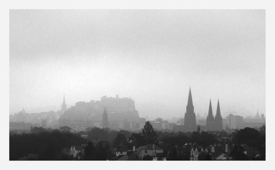 Rainy Edinburgh