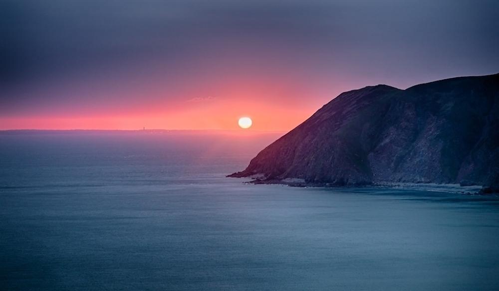 Sunrise over Port Talbot
