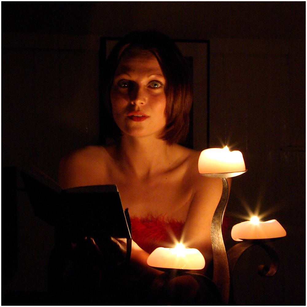Kelly by Candlelight