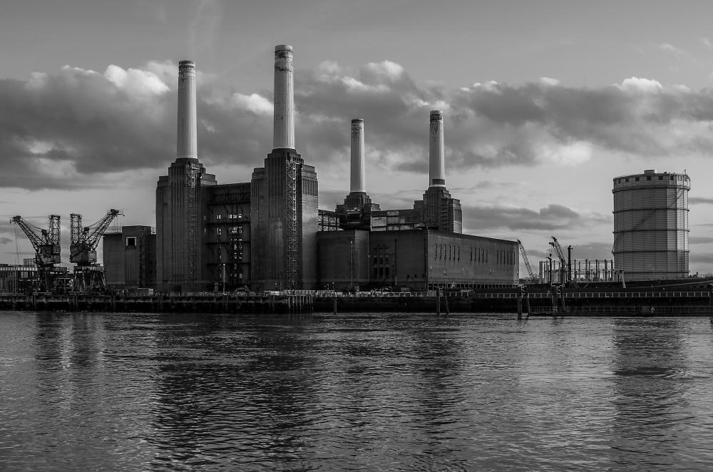Battersea Power Station - as it was