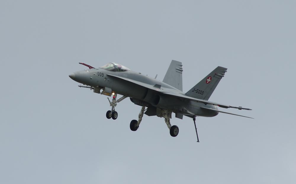 RIAT 2014 - Swiss Air Force Hornet