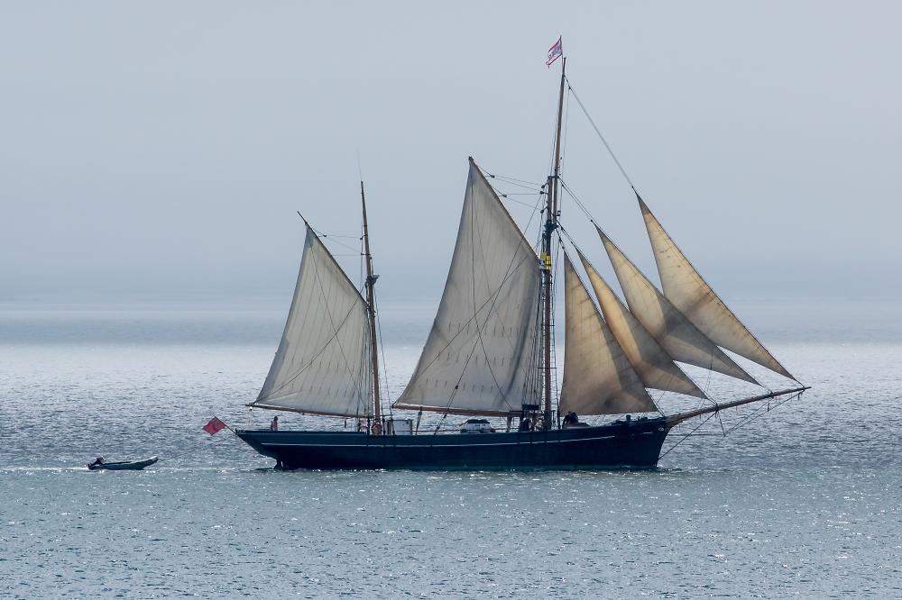Sailing around