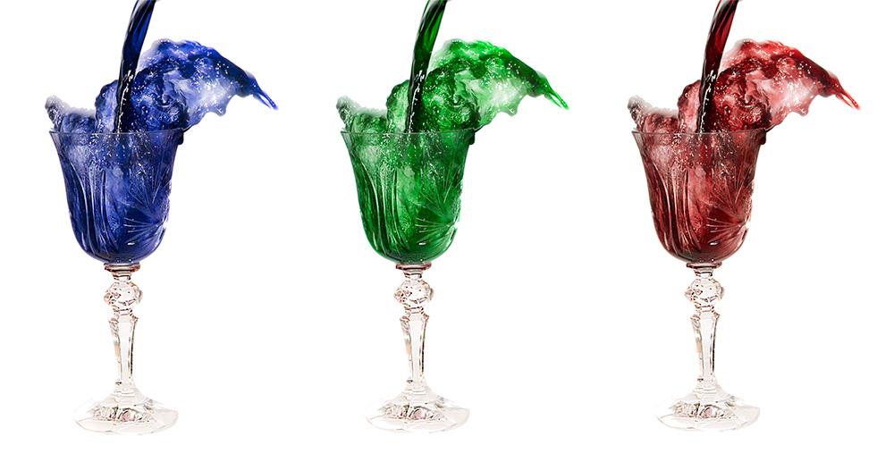 Tri Colour Wine