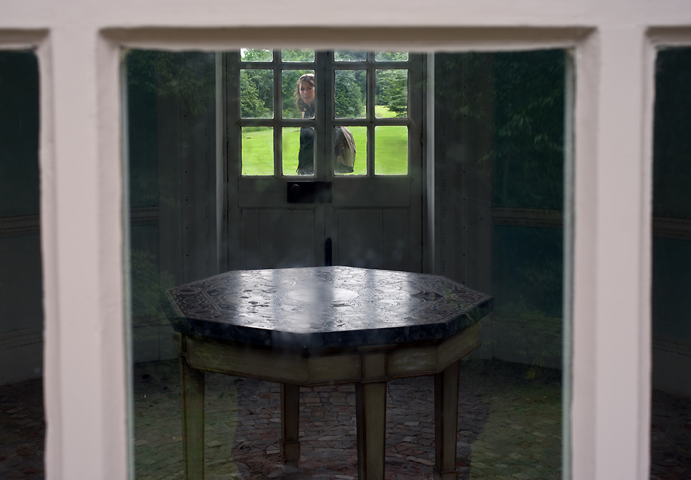 A Window, a Door, a Table and a Wife