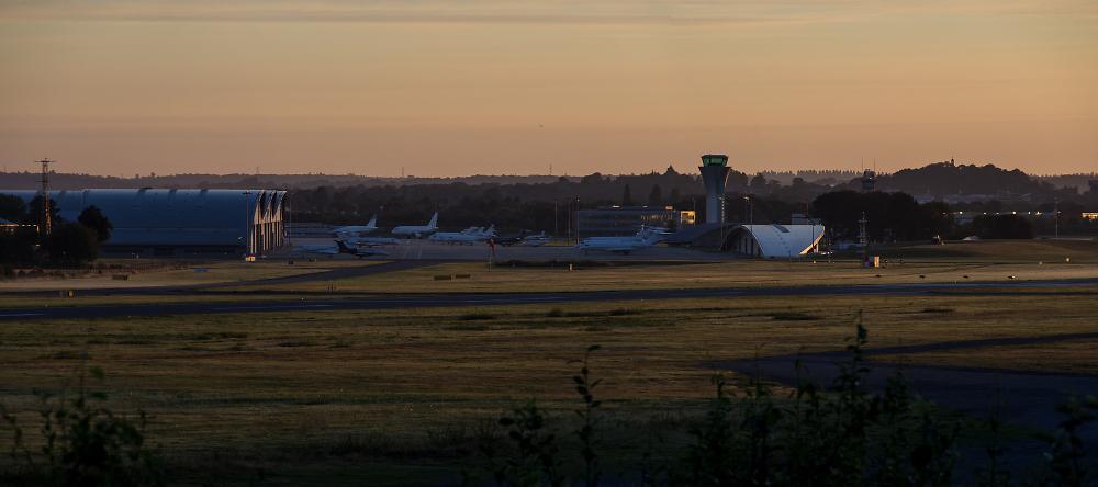 Airfield Dawn