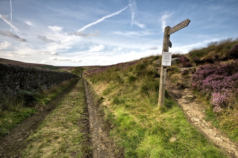 Pennine Way on the Bronte Moors