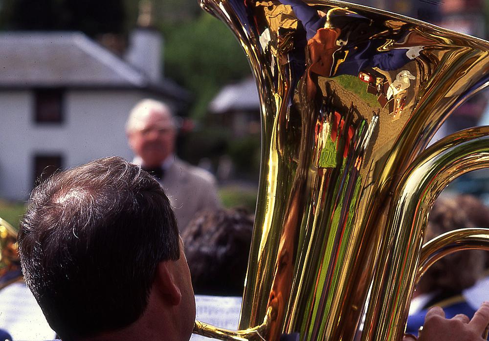 Reflection in Brass