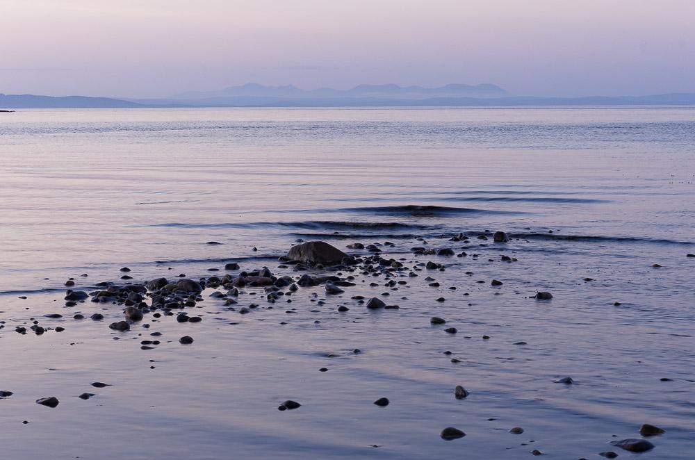 ripples at dawn