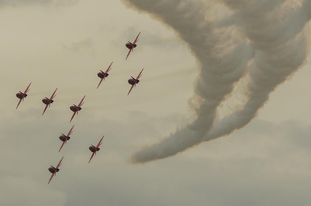 The Red Arrows - Concorde Formation