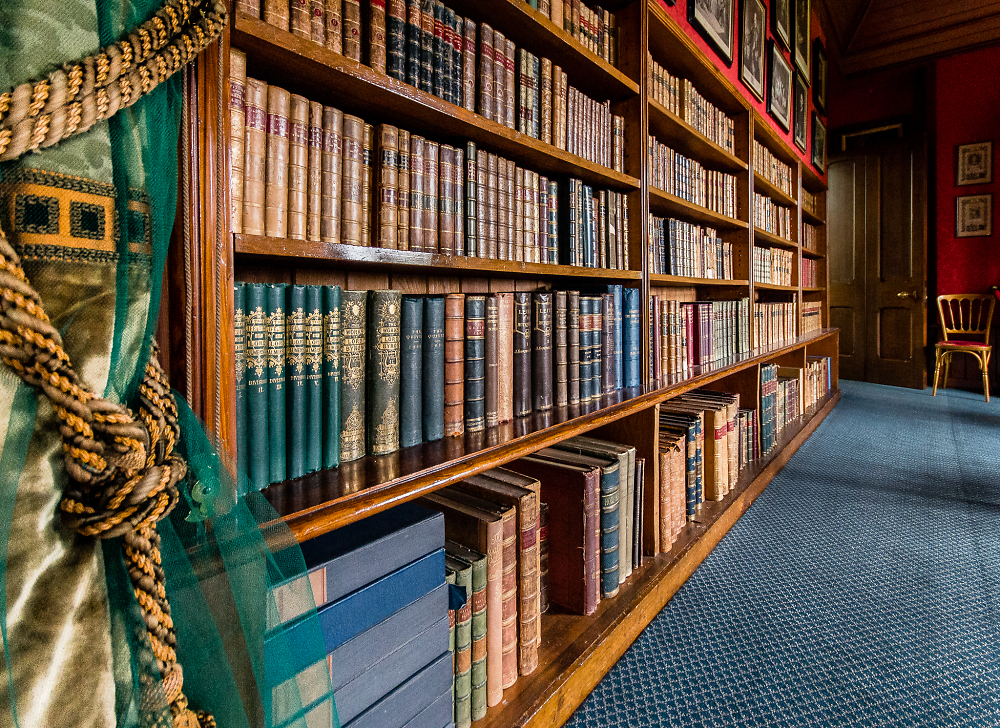 In grandfather's library