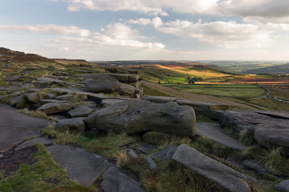 Late Afternoon in Derbyshire