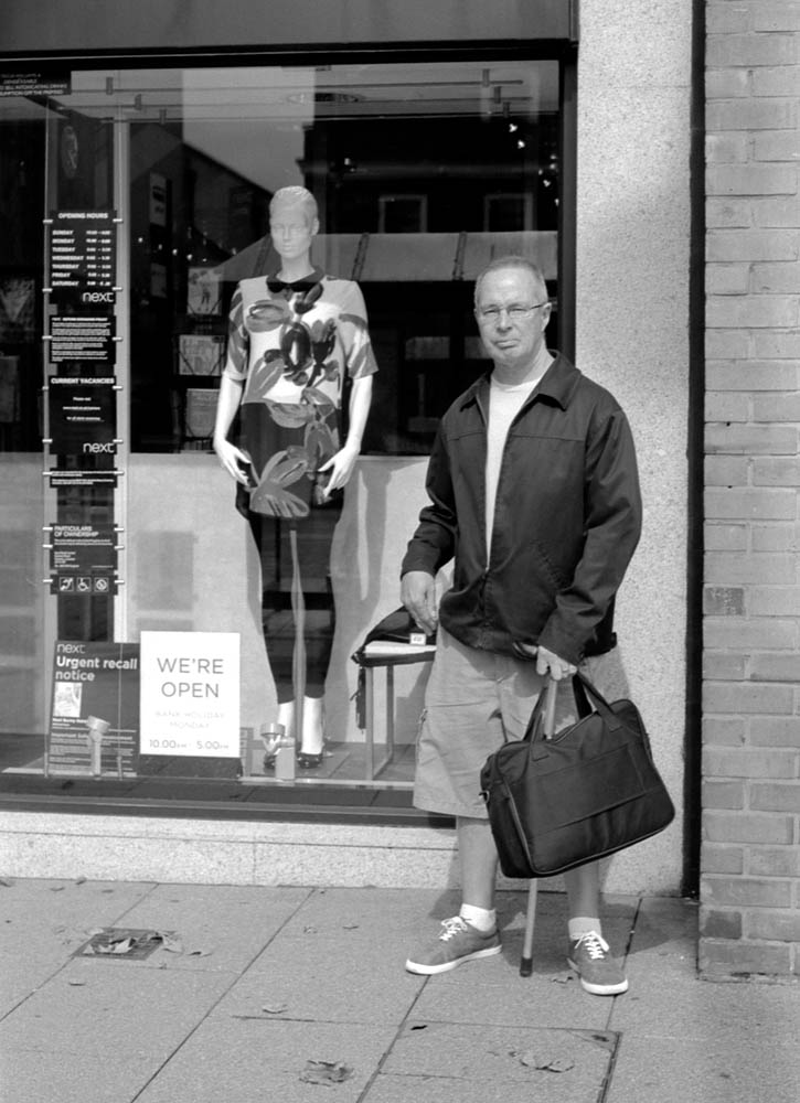 Man and Mannequin