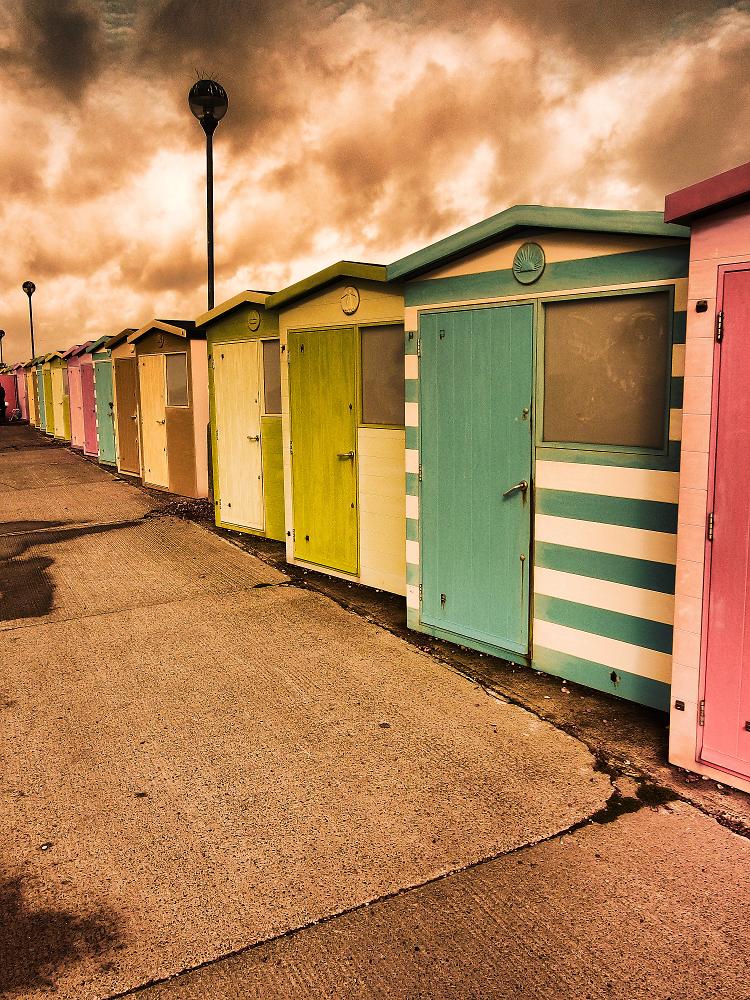 Beach huts for Model beach huts