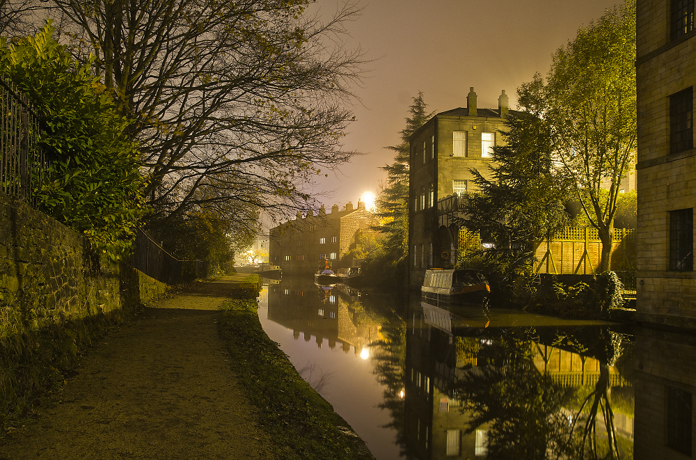 Evening Rochdale Canal