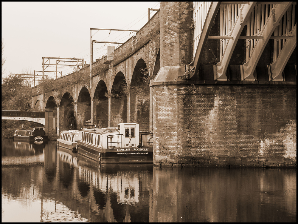 Railway Viaduct, Castlefield, Manchester