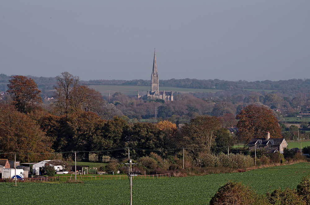 Towards the spire
