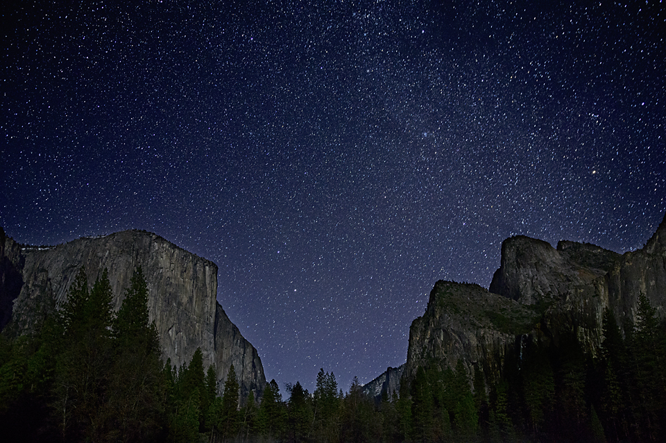 After Dark In Yosemite