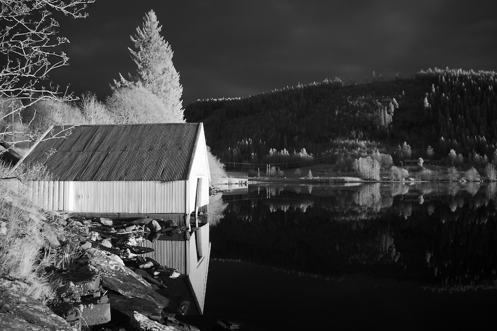 Boathouse by the Lake