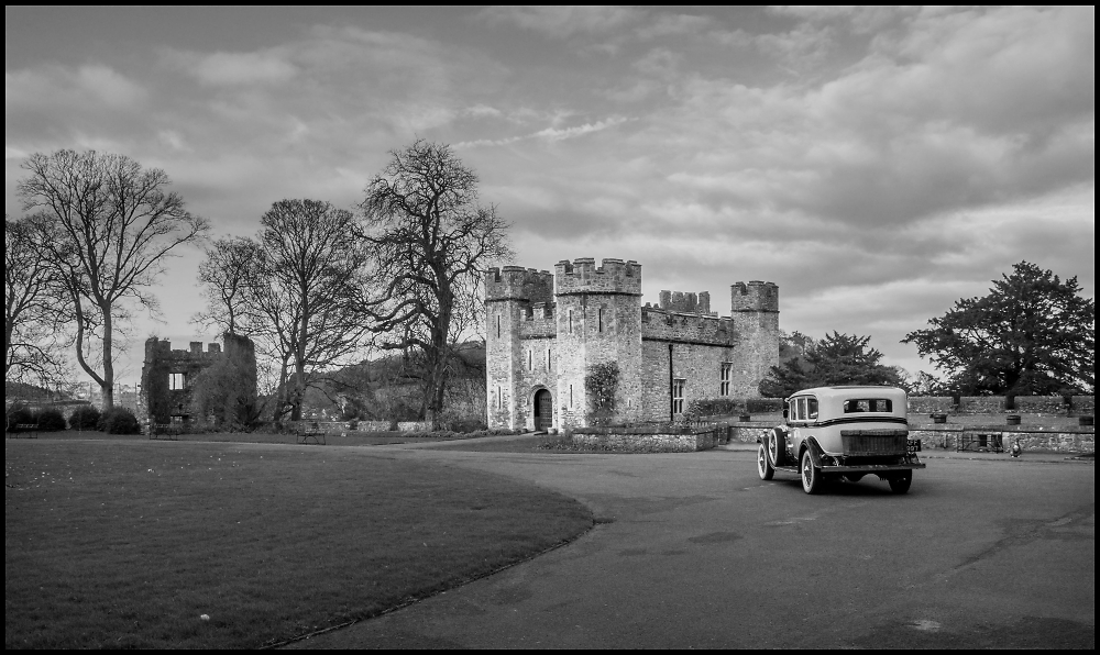 Cadillac at the Castle
