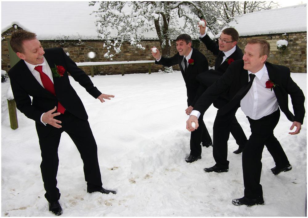 Winter Wedding Fun