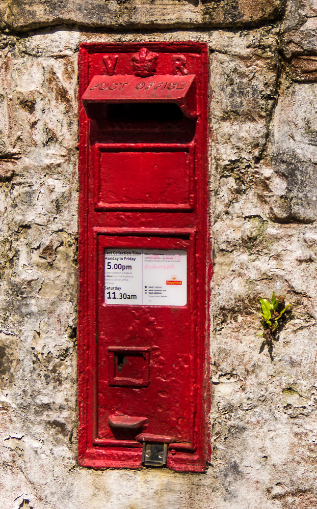 English Post Box !