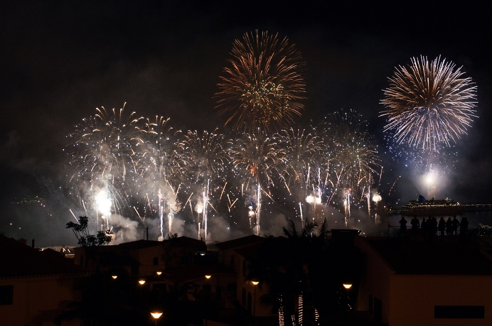 New Year fireworks in Madeira