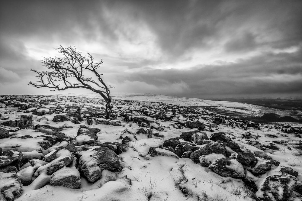 Yorkshire Dales, Snow