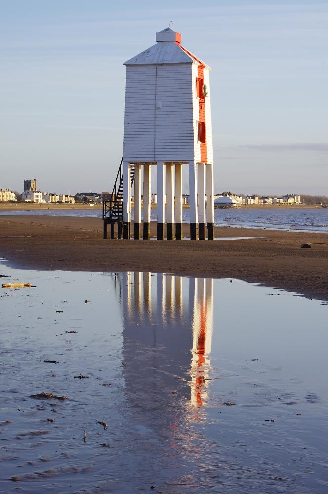 Burnham on sea lighthouse somerset