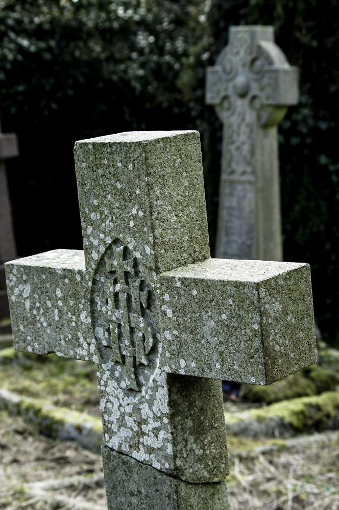 Broken Gravestone 2015