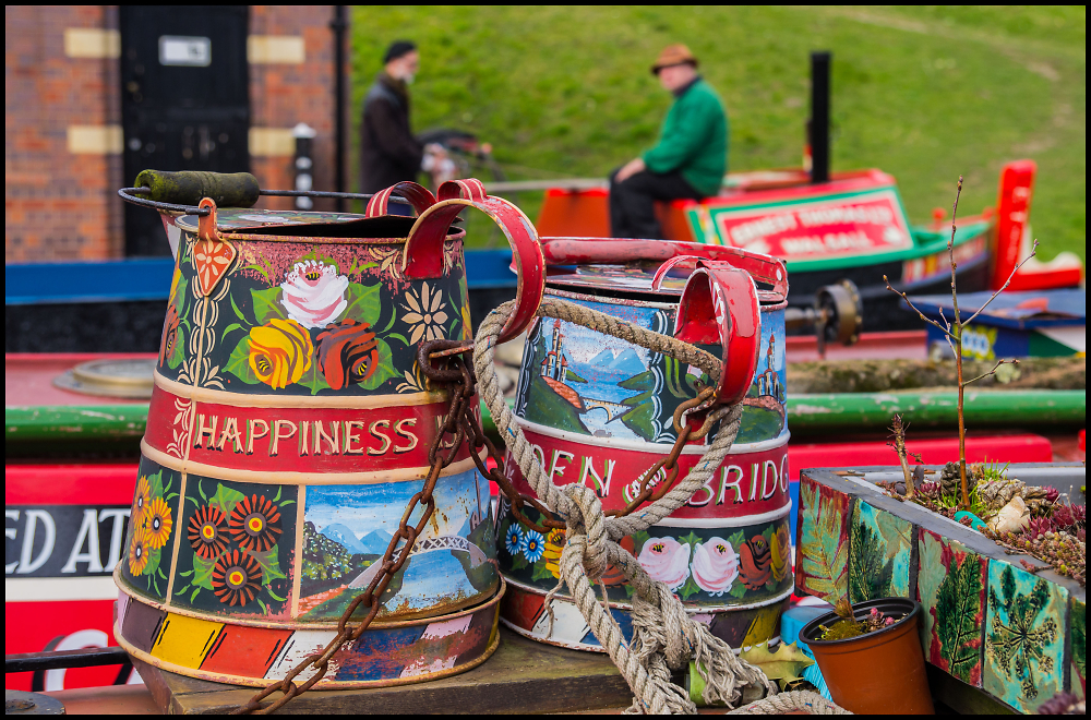 Canal Barge Art
