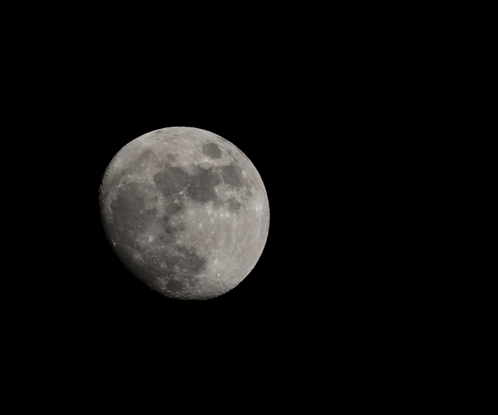 My annual moon shot