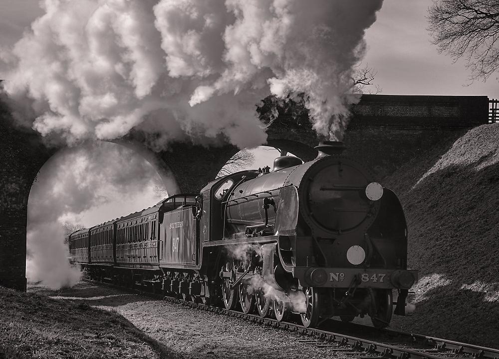 Southern Steam at Three Arch Bridge