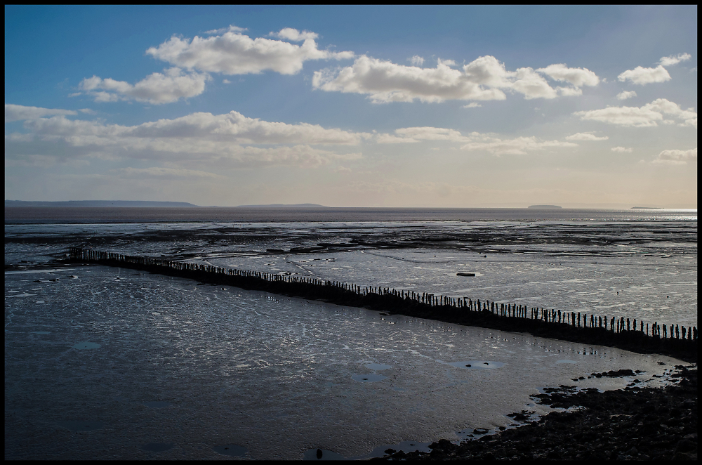 The Severn Estuary at Low Tide