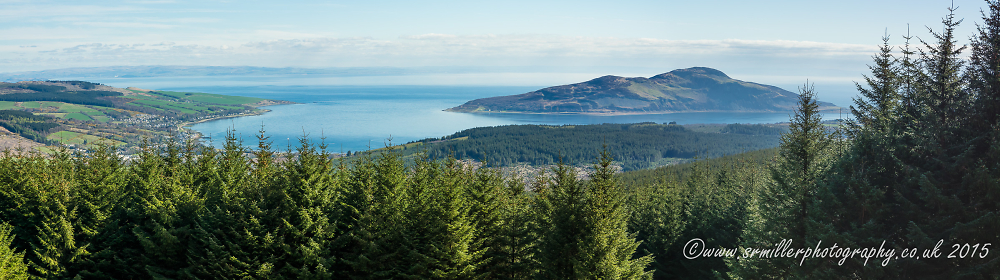 Lamlash Bay panorama