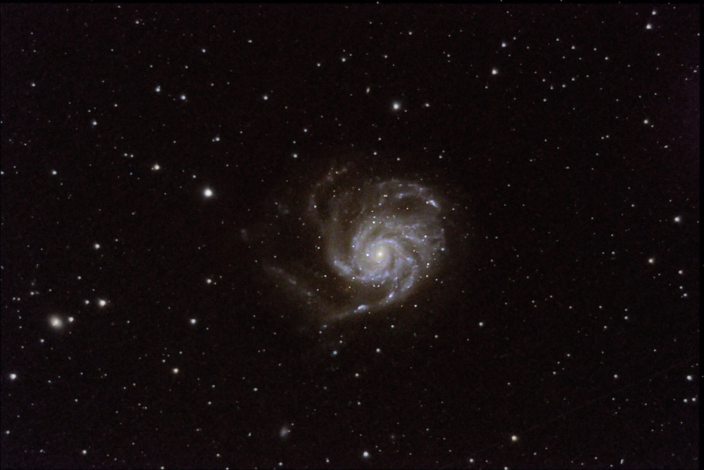 The Pinwheel Galaxy M101
