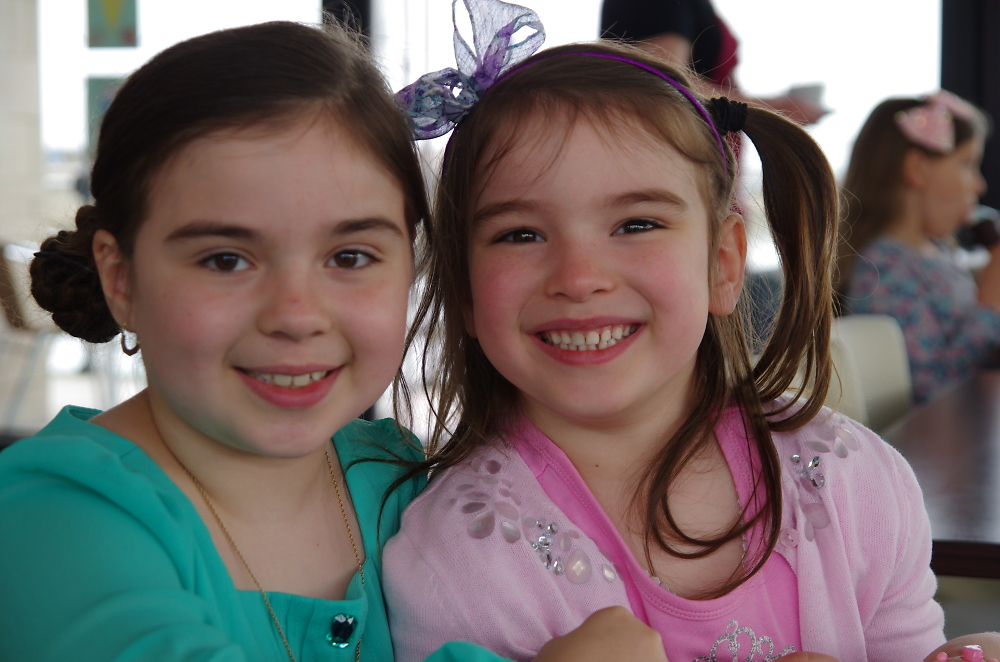 Esme and Tabitha , my grand daughters