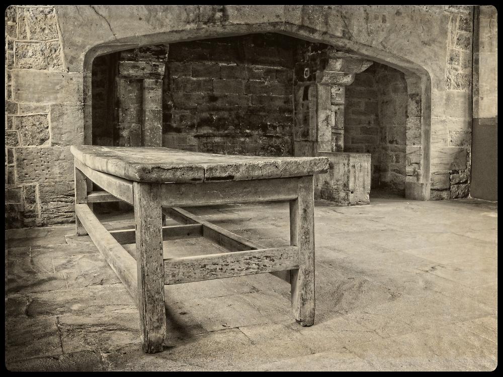 Tudor Kitchen Table